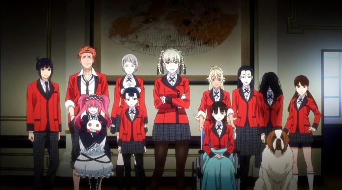 segunda temporada de Kakegurui Clan Momobami - El Palomitrón