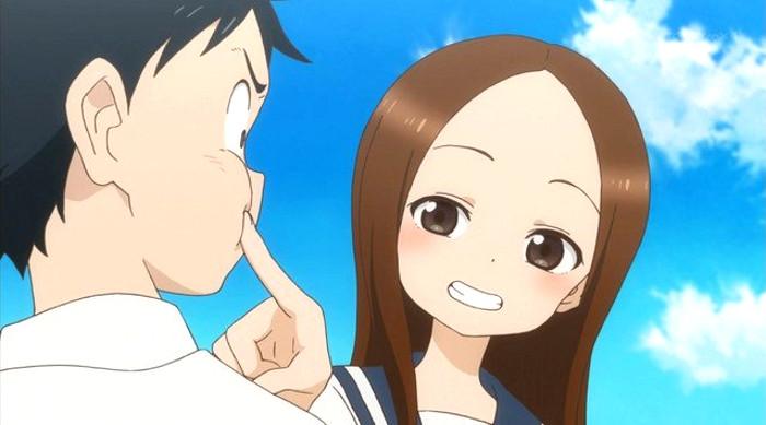 segunda temporada de Karakai Jozu no Takagi-san principal - El Palomitrón