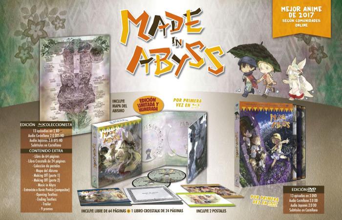 edición coleccionista de Made in Abyss Galería 1 - El Palomitrón