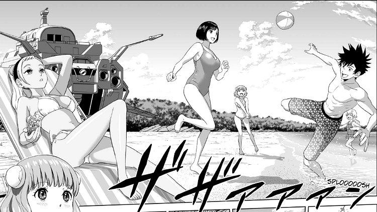 Astra Lost in Space es la obra ganadora de la 12º edición de los Manga Taisho escena playa - El Palomitrón