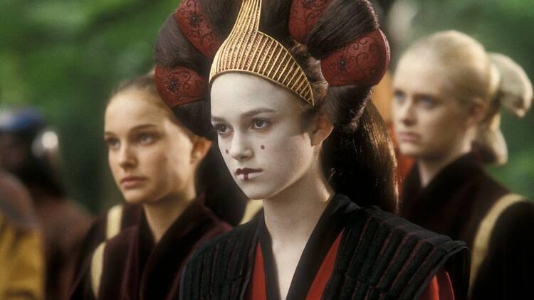 Filmografía Keira Knightley Star Wars - El palomitron