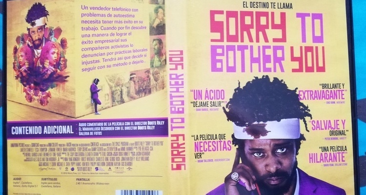 Keith Stanfield DVD Sorry To Bother You - El Palomitrón
