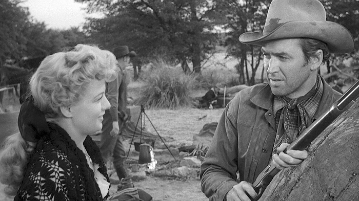 Shelley Winters, James Stewart + El Palomitrón