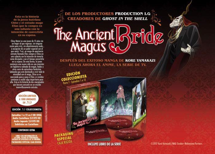 edición coleccionista de The Ancient Magus Bride galería 1 - El Palomitrón