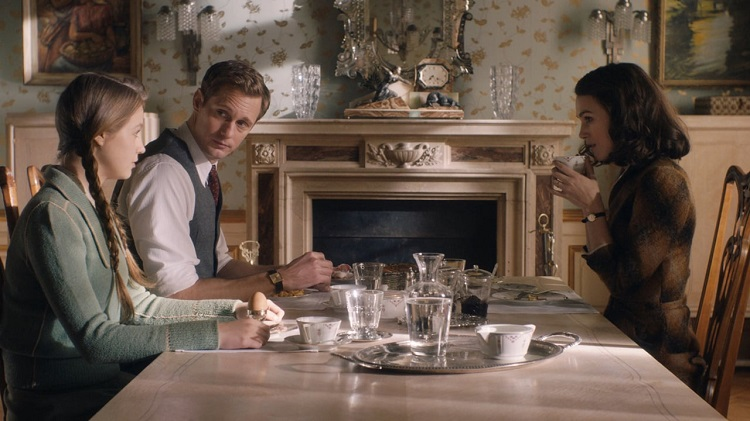 Crítica El día que vendrá Keira Knightley Alexander Skarsgård comedor - El Palomitron