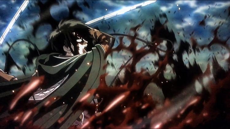Crítica de Shingeki no Kyojin 3x17 Levi - el palomitron