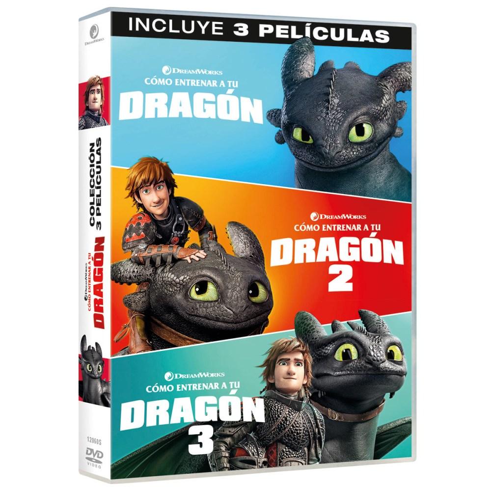 Como entrenar a tu dragon pack dvd - El Palomitrón