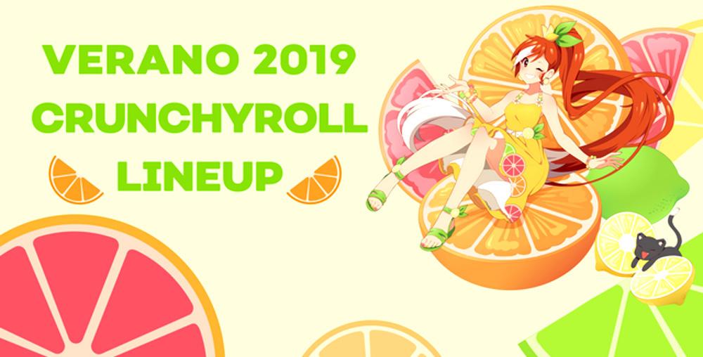 Crunchyroll anime verano 2019 imagen destacada - El Palomitrón