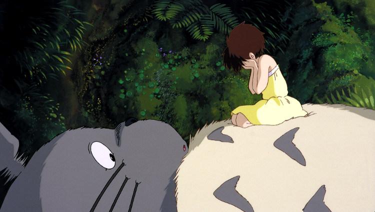 La princesa Mononoke y Mi vecino Totoro bosque totoro - El Palomitrón