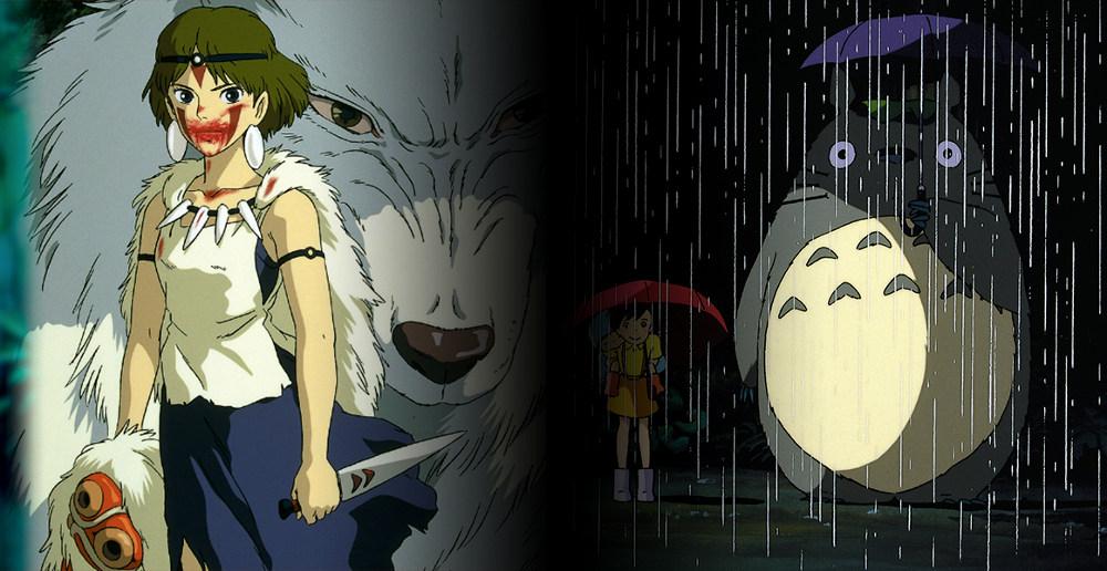 La princesa Mononoke y Mi vecino Totoro destacada - El Palomitrón