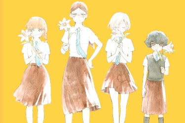 Nuestra Salvaje Juventud, de Mari Okada y Nao Emoto elenco a color - El Palomitrón