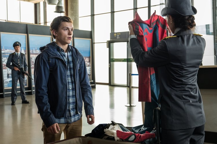 Spider-man: Lejos de casa. Tom Holland, EL PALOMITRÓN