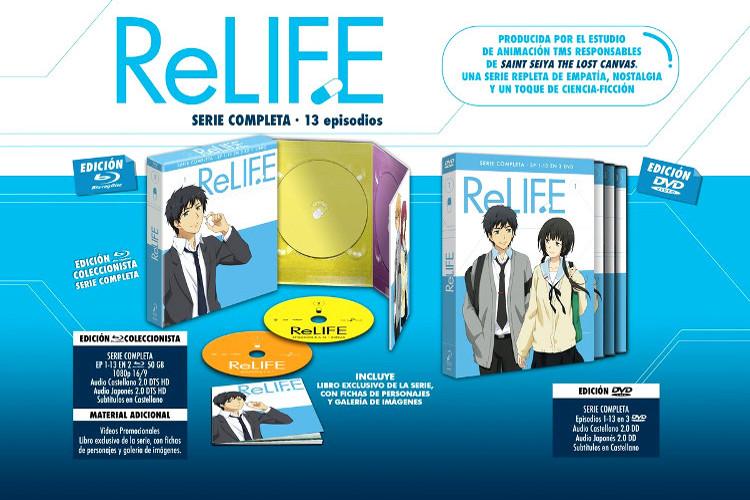 edición coleccionista de ReLIFE cartel promocional - El Palomitrón