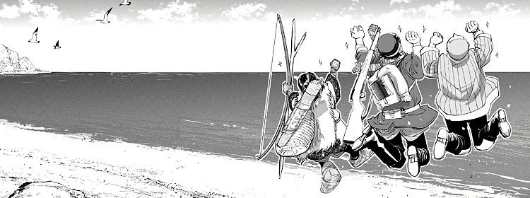 tercera temporada de Golden Kamuy manga - El Palomitrón