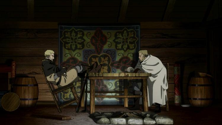 Crítica del anime de Vinland Saga Askeladd Floki - El Palomitrón