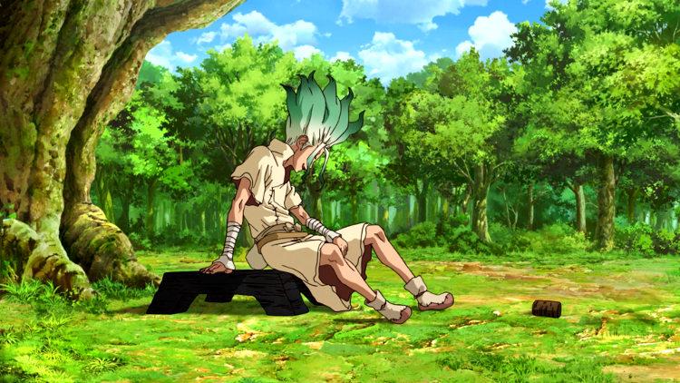 Recomendaciones anime verano 2019 Dr. Stone - el palomitron