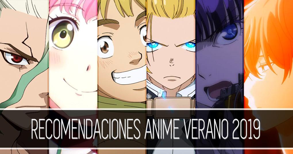 Recomendaciones anime verano 2019 destacada - El Palomitrón
