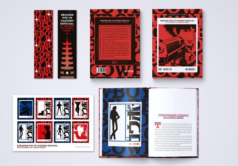 Reseña de Réquiem por un vaquero espacial El universo de Cowboy Bebop cartel promocional - El Palomitrón