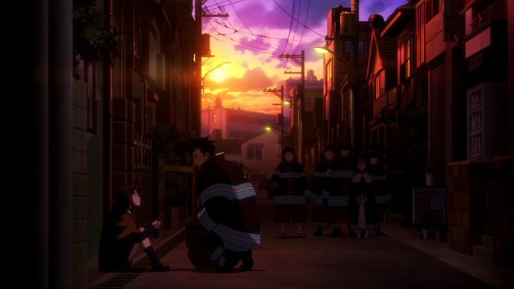 impresiones del anime de Fire Force Obi - el palomitron