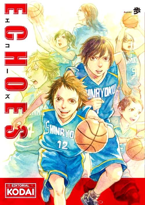 Editorial KODAI licencia ECHOES portada provisional - El Palomitrón