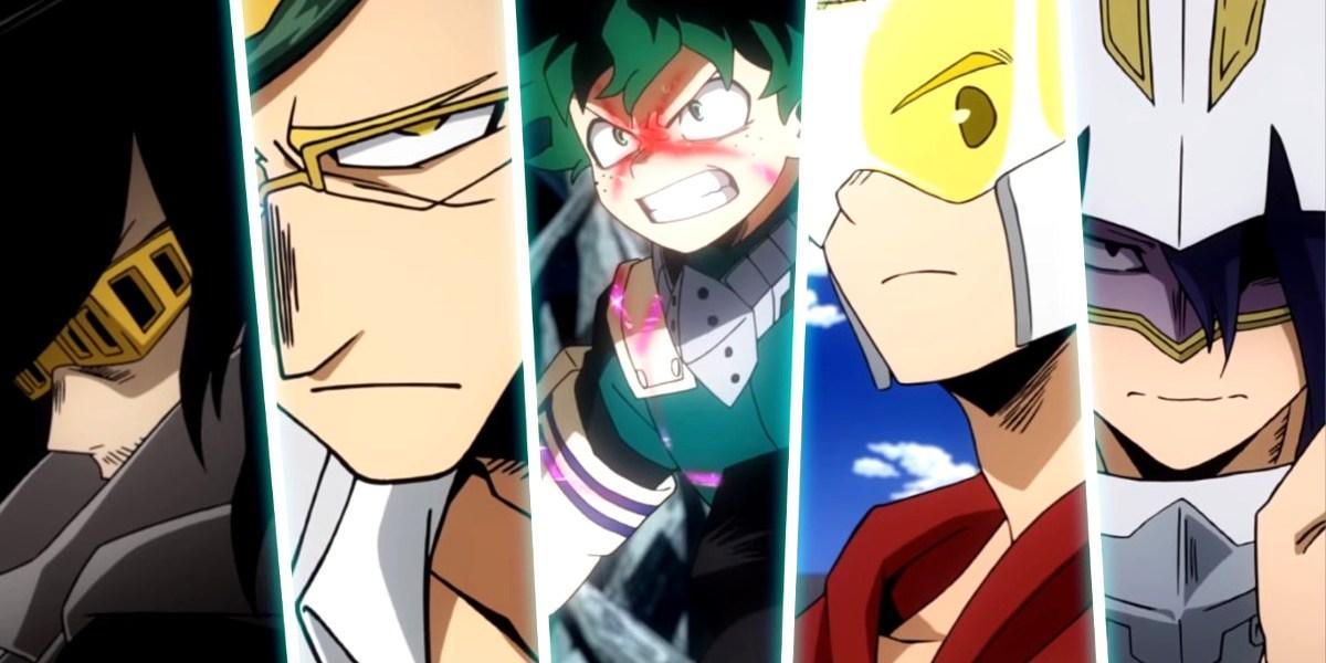 Fecha de estreno y tráiler de la cuarta temporada de Boku no Hero Academia imagen destacada héroes - El Palomitrón