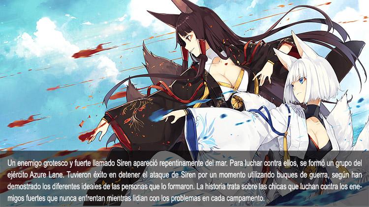 Guía de anime otoño 2019 Azur Lane - El Palomitrón