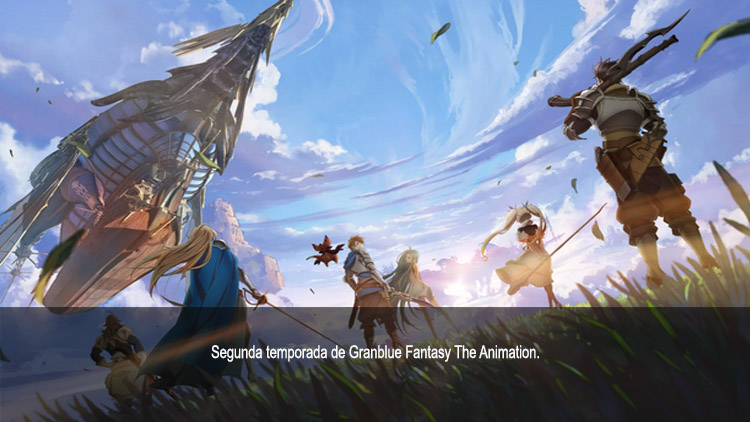 Guía de anime otoño 2019 Granblue Fantasy The Animation S2 - El Palomitrón