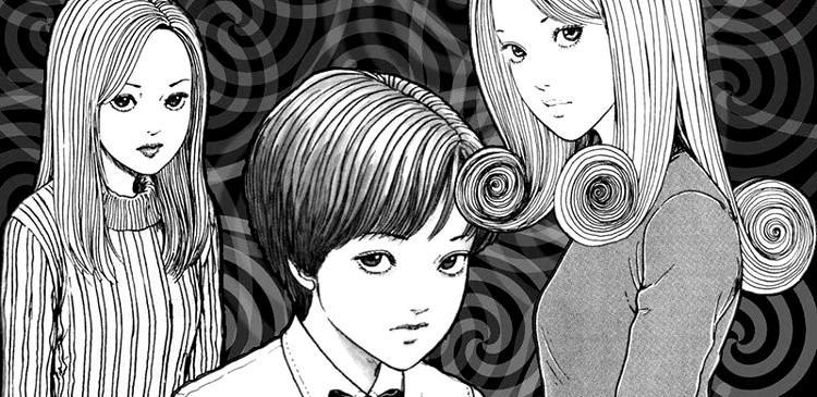 anime de Uzumaki, de Junji Ito protagonistas - El Palomitrón