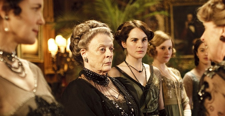 Maggie Smith_MIchelle Dockery_Downtoun Abbey_El Palomitron