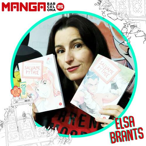 Autores invitados al Manga Barcelona 25 Elsa Brants - El Palomitrón