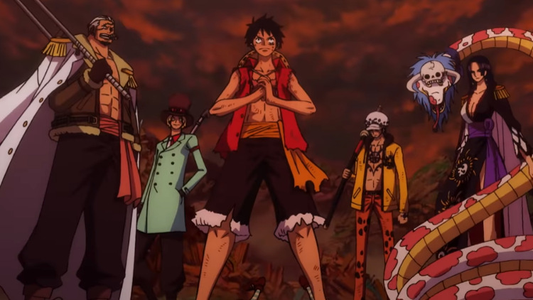 Crítica de One Piece Stampede grupo - El Palomitrón