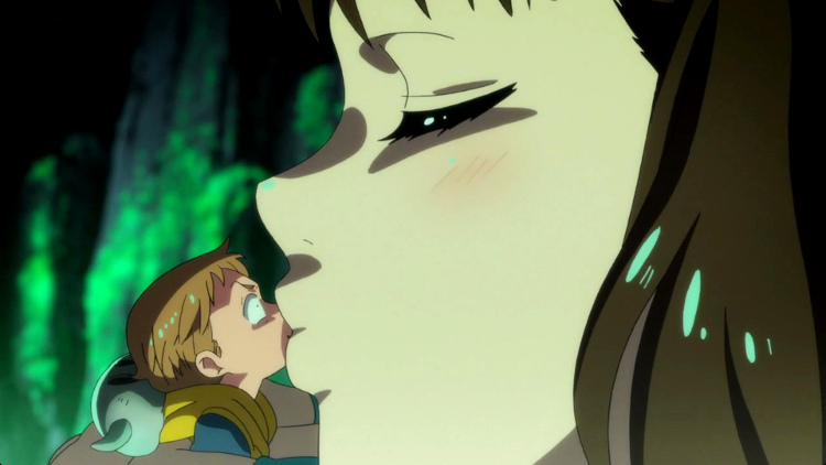 Crítica de Nanatsu no Taizai tercera temporada capítulos 1-8 King y Diane beso - El Palomitrón