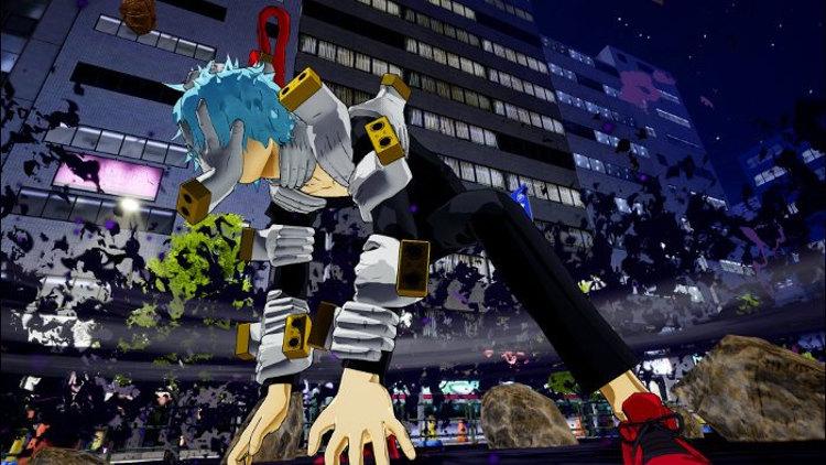 Personajes de My Hero Academia One's Justice 2 Shigaraki - El Palomitrón