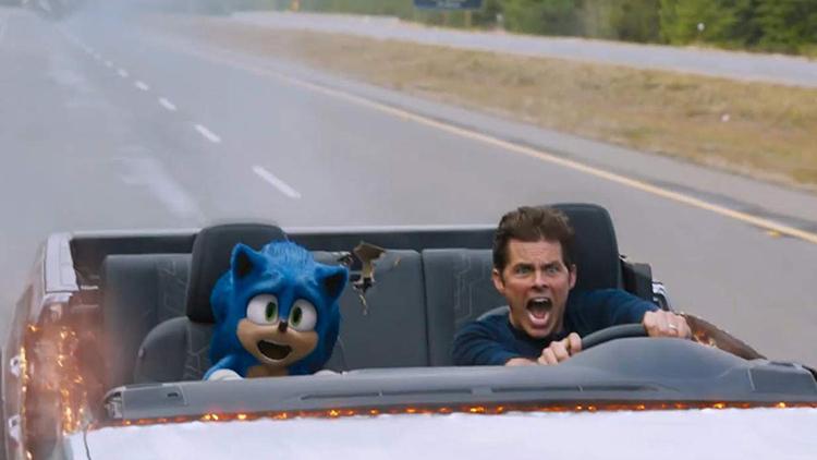 James Marsden, Sonic La película,EL PALOMITRÓN