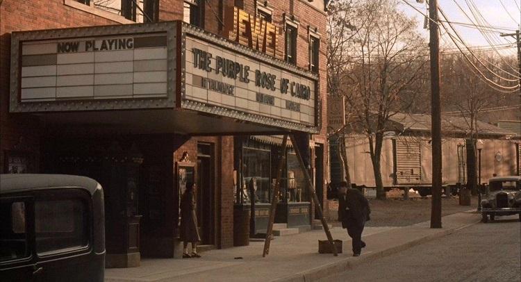 Mia Farrow + La rosa púrpura de El Cairo + El Palomitrón