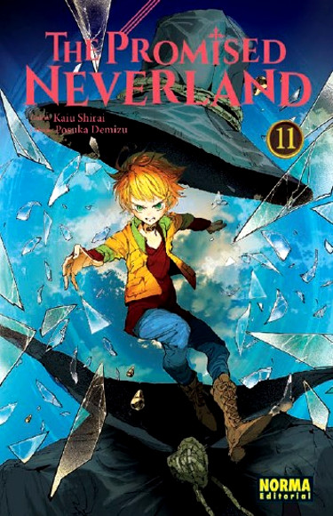 Lanzamientos Norma Editorial abril 2020 The Promised Neverland - El Palomitrón