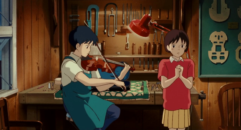 Películas Studio Ghibli en Netflix abril 2020 Susurros del corazón - El Palomitrón