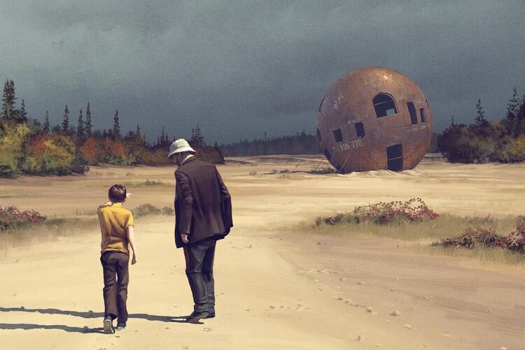 Jonathan Pryce, Tales From The Loop. EL PALOMITRÓN