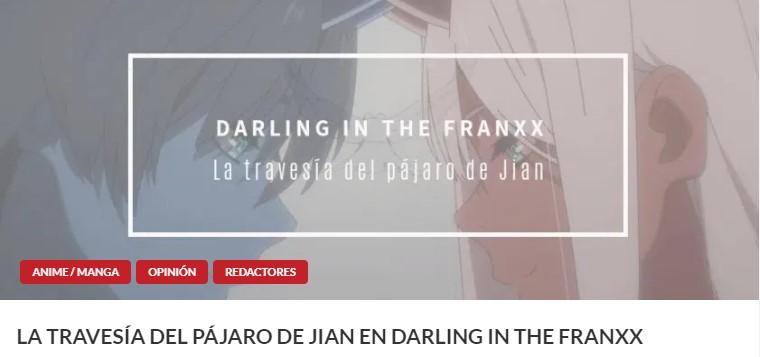edición en DVD de Darling in the FRANXX artículo 2 - El Palomitrón