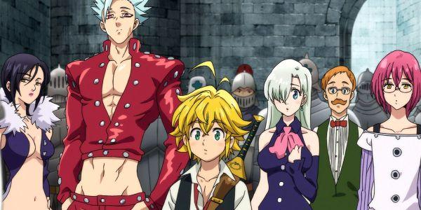 tercera temporada de Nanatsu no Taizai llegará a Netflix destacada - El Palomitrón
