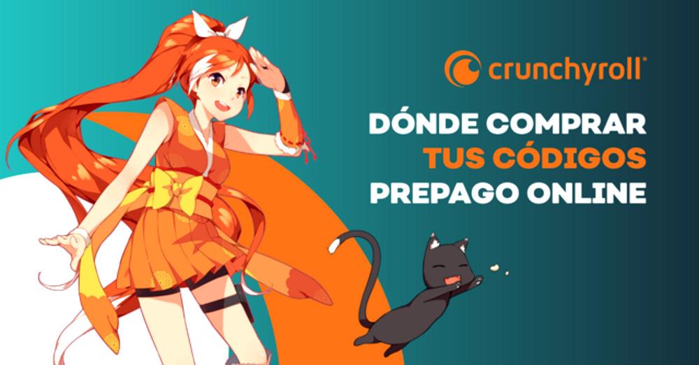 códigos prepago de Crunchyroll destacada - El Palomitrón