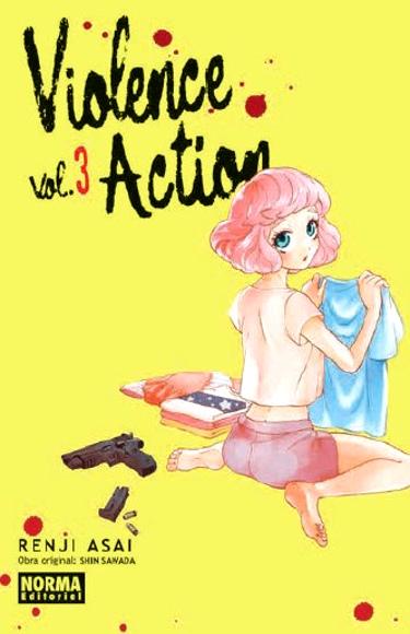 Lanzamientos Norma Editorial junio 2020 Violence Action - El Palomitrón