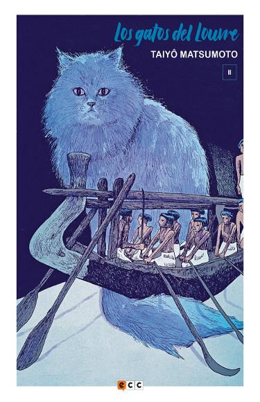 Lanzamientos ECC Ediciones julio 2020 Los gatos del Louvre - El Palomitrón