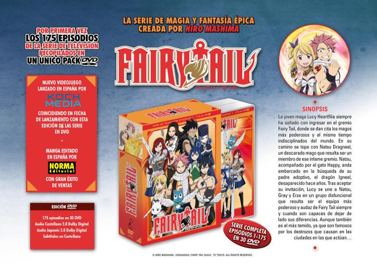 Lanzamientos Selecta Visión julio 2020 Fairy Tail BOX serie completa - El Palomitrón