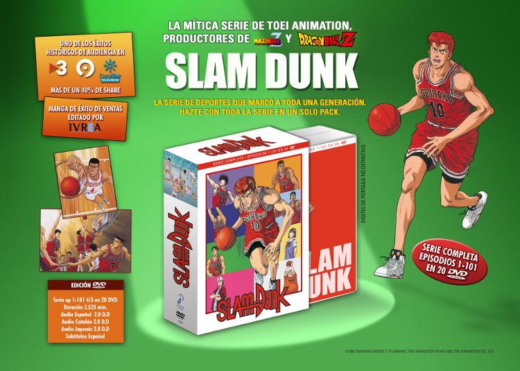 Lanzamientos Selecta Visión agosto 2020 slam dunk serie completa - El Palomitrón