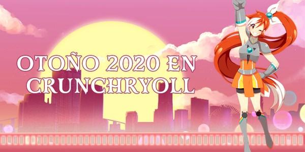 Crunchyroll anime otoño 2020 destacada - El Palomitrón