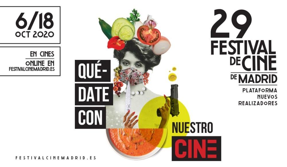 Cartel de la 29 edición del Festival de Cine de Madrid