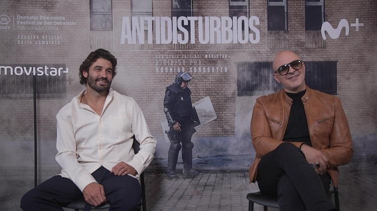 entrevista antidisturbios alex garcia roberto alamo - el palomitron