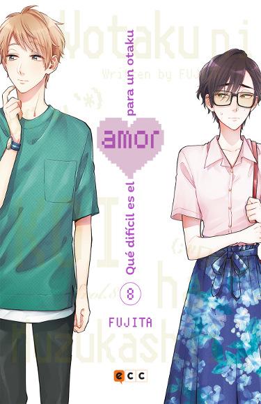 Lanzamientos ECC Ediciones noviembre y diciembre 2020 Que dificil es el amor para un otaku - El Palomitrón