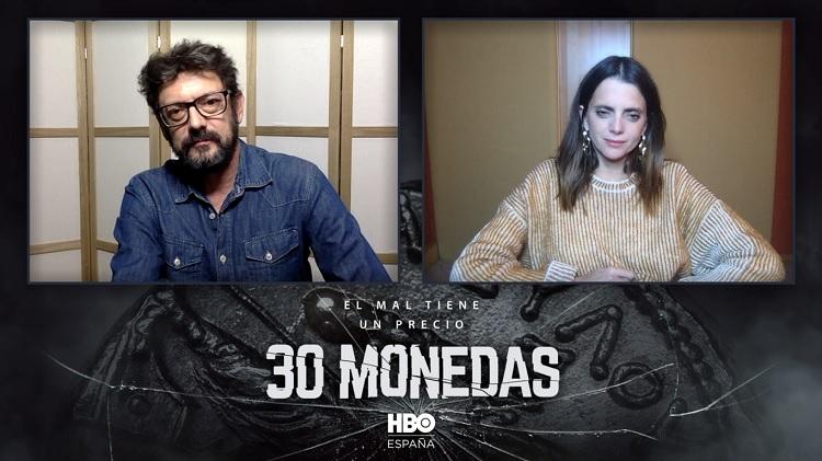 Manolo Solo y Macarena Gómez 30 monedas - El Palomitrón